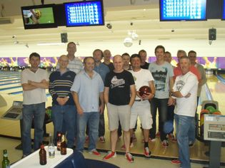 BFAC 10 pin bowls night 2012